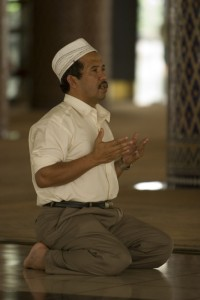 muslim man islam prayer