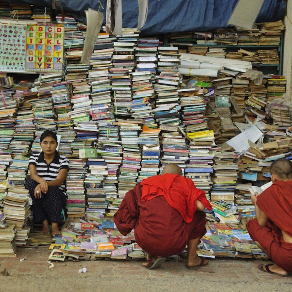 Buddhistische Mönche in Myanmar
