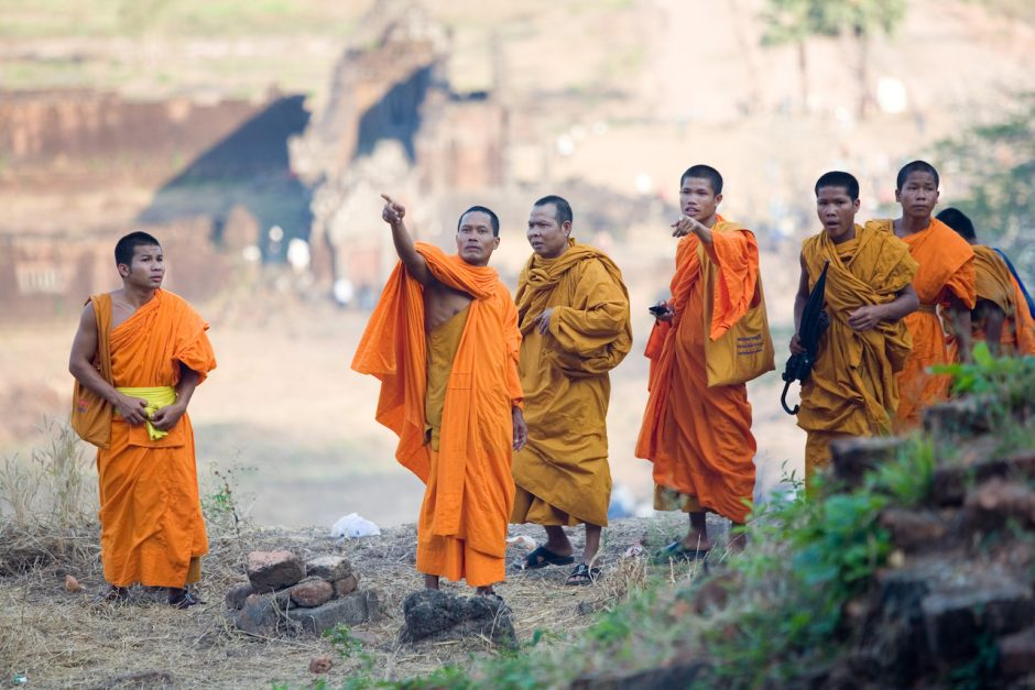Buddhisten in Laos