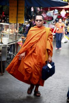 Buddhistischer Mönch in Thailand