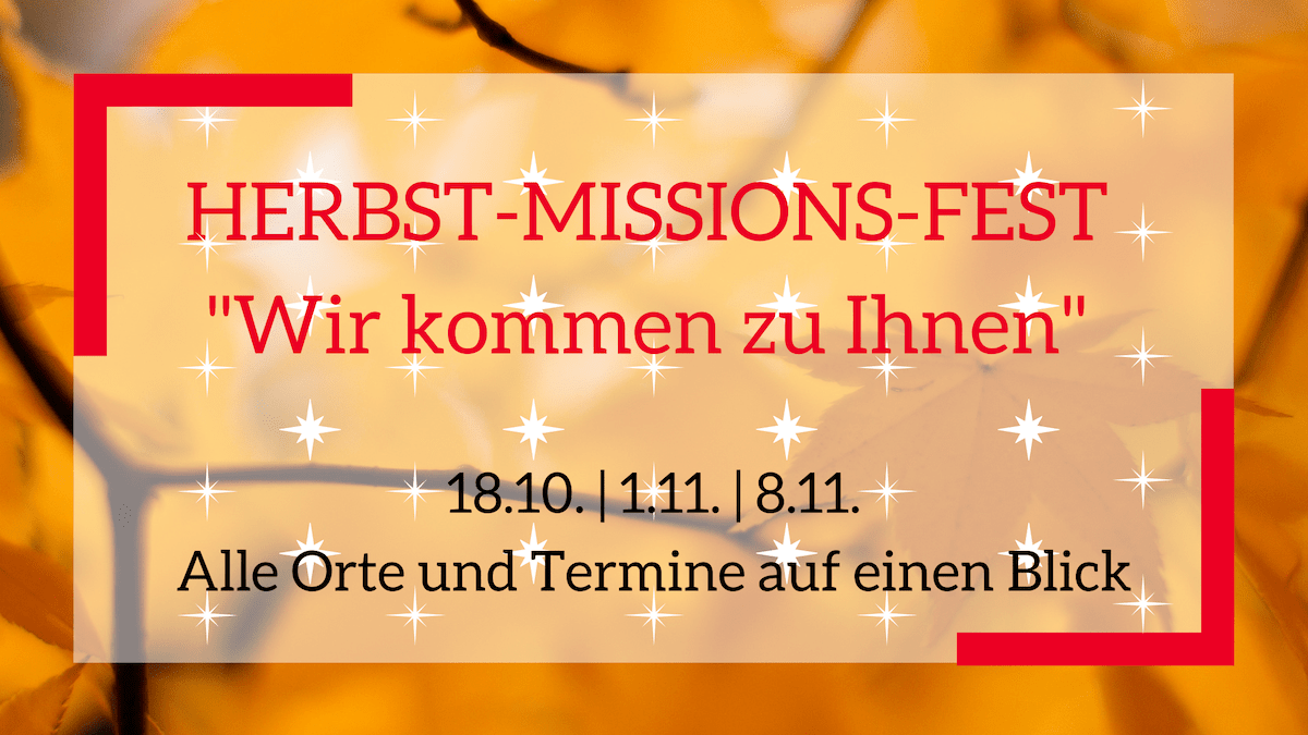 Herbstmissionsfest