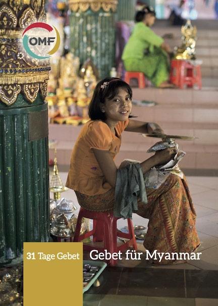Myanmar Gebetsheft