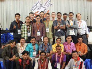 ミッション・イン・アクション、カンボジアからの参加者と共に