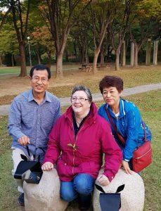 キム宣教師夫妻とケンプ部長