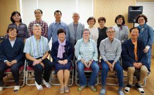 韓国OMFディアスポラ伝道チーム、一部のメンバーと