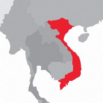 Vietnam_kaart_zondertekst